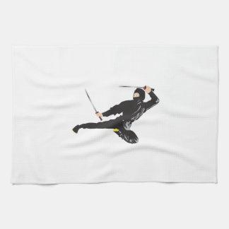 Ninja Kick Tea Towel