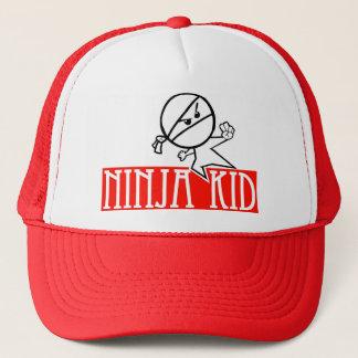 ninja kid trucker hat
