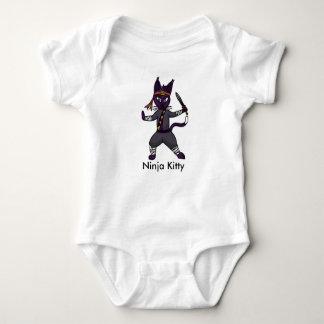 Ninja Kitty Baby Bodysuit