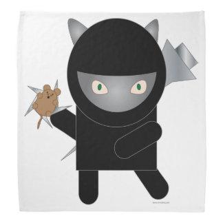 Ninja Kitty Bandanna