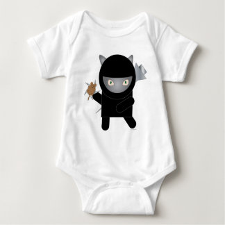 ninja kitty infant onsie baby bodysuit