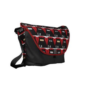 Ninja Kitty Messenger Bag