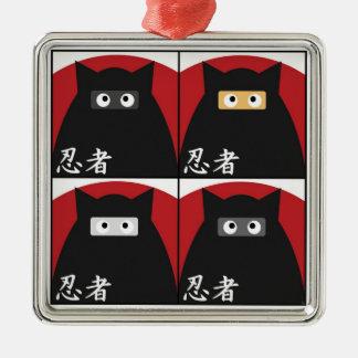 Ninja Kitty Ornament