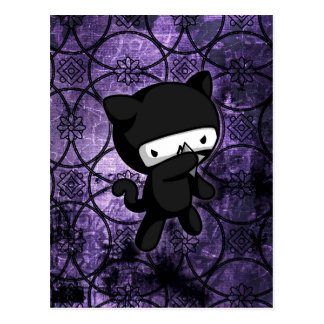 Ninja Kitty Postcard