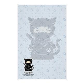 Ninja Kitty! Stationery