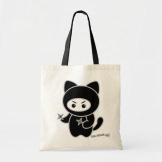 Ninja kitty tote