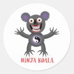 Ninja Koala Sticker