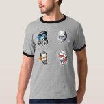 Ninja Leonardo Donatello Raphael Michelagelo T-shirts