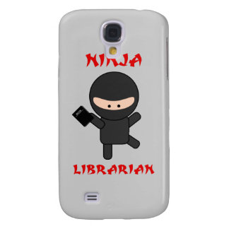 Ninja Librarian With Book Galaxy S4 Case