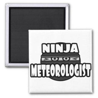 Ninja Meteorologist Fridge Magnets