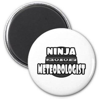 Ninja Meteorologist Refrigerator Magnet