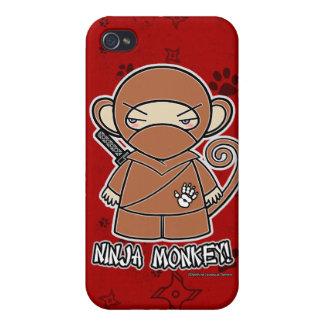 Ninja Monkey Ninja iPhone 4 Case Red