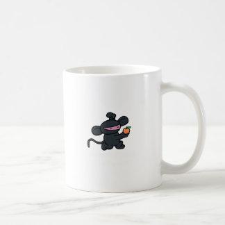 Ninja Monkey Steals the Peach Coffee Mug