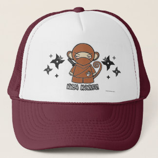 Ninja Monkey! With Shurikens Hat