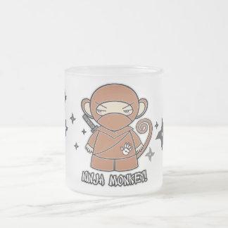 Ninja Monkey! With Shurikens Mug