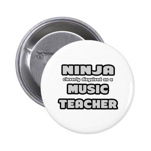 Ninja... Music Teacher Badge | Zazzle  Ninja... Music ...