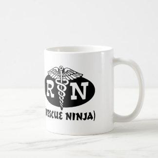 Ninja Nurse Basic White Mug