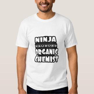 Ninja Organic Chemist Tees