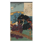 Ninja Painting circa 1853 Japan Pack Of Standard Business Cards