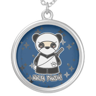 Ninja Panda! Multi Shuriken Ninjadorables Necklace