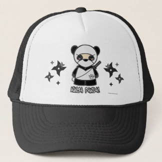 Ninja Panda! With Shurikens Hat