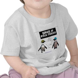 Ninja penguin shirts