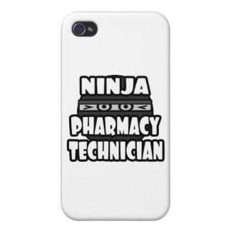 Ninja Pharmacy Technician Covers For iPhone 4