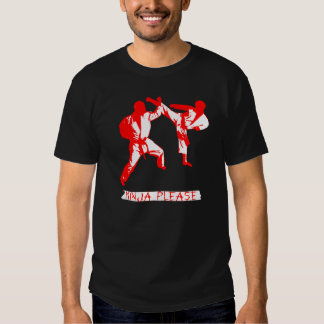 Ninja Please MMA/ Karate/ Martial Arts Funny T T-shirt