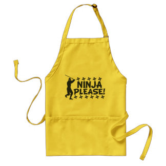 Ninja Please Standard Apron