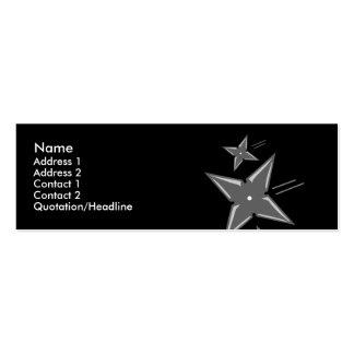 Ninja Profile Cards Business Card Template