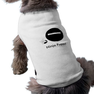 Ninja Puppy! Sleeveless Dog Shirt