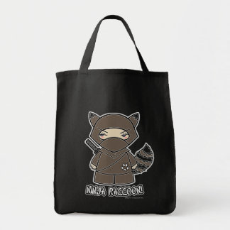 Ninja Raccoon Tote Bag