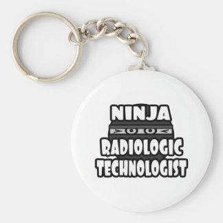 Ninja Radiologic Technologist Key Chain
