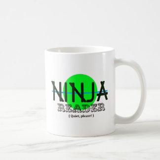 Ninja Reader Basic White Mug
