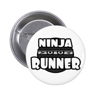 Ninja Runner 6 Cm Round Badge