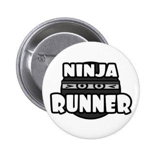 Ninja Runner 6 Cm Round Badge