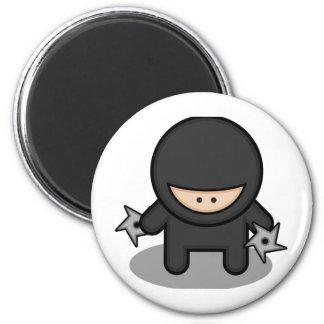 Ninja Skillz 6 Cm Round Magnet