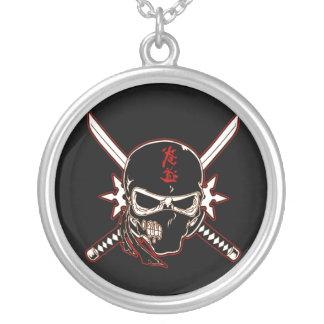 Ninja Skull Necklace