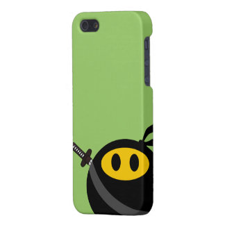 Ninja smiley face iPhone 5/5S cases