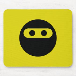 Ninja Smiley Mouse Mat