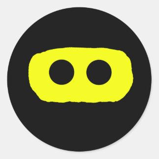 Ninja Smiley Sticker