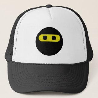 Ninja Smiley Trucker Hat