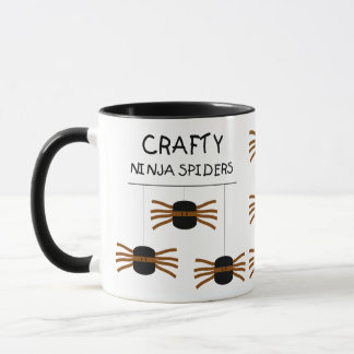 Ninja Spiders! Mug