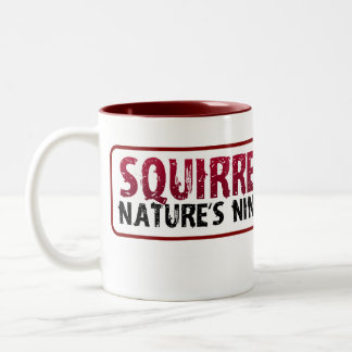 Ninja Squirrel Mug