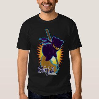 Ninja Squirrel Tee Shirt