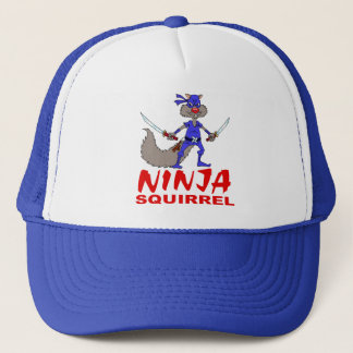 Ninja Squirrel Trucker Hat