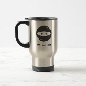 Ninja Teacher Definition Travel Mug
