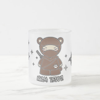 Ninja Teddy With Shurikens Mug