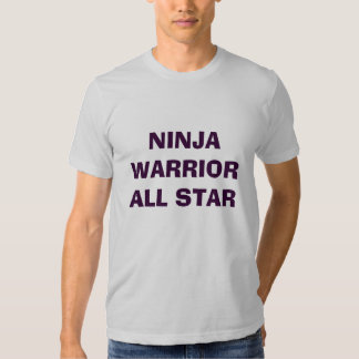 NINJA WARRIOR ALL STAR SHIRT