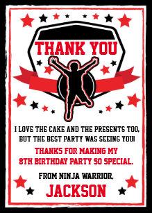 Ninja Warrior Cards | Zazzle UK